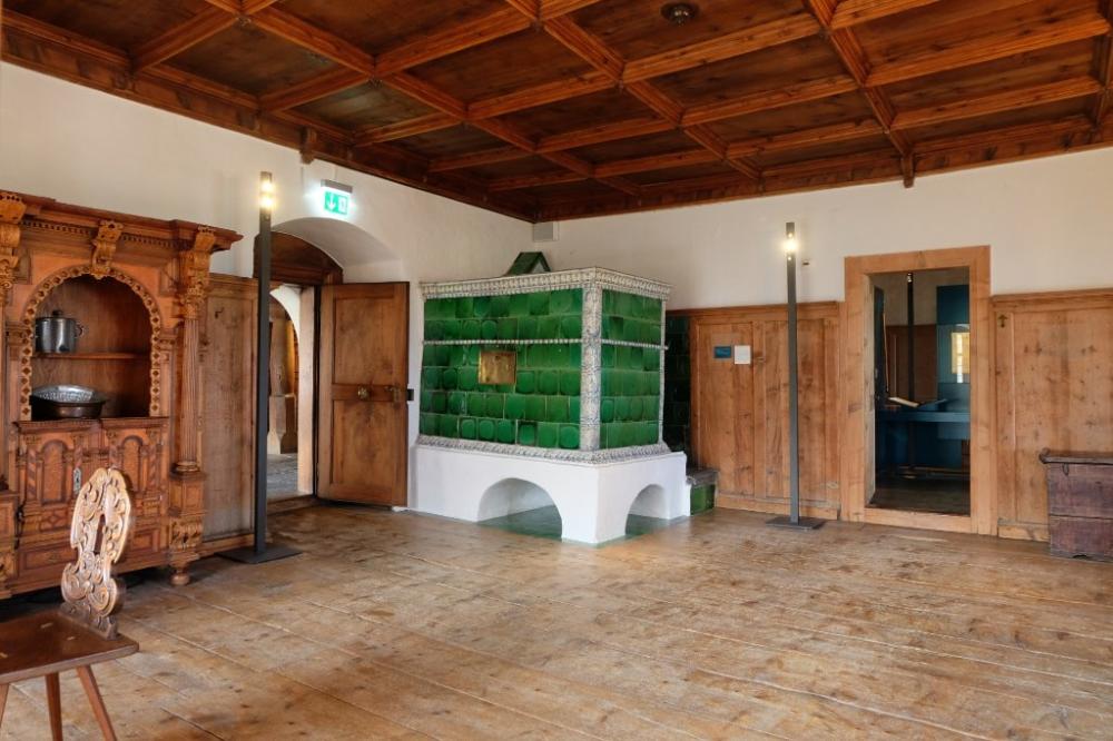 Schloss Werdenberg Château, Architecture unique, Ecrire