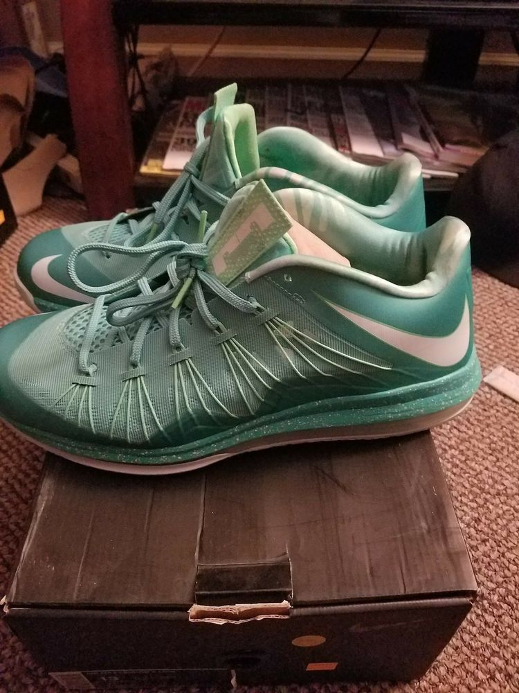 the latest 72292 f1ee3 ... clearance nike air max lebron x low easter mens size 13 fashion  clothing 51835 492e4