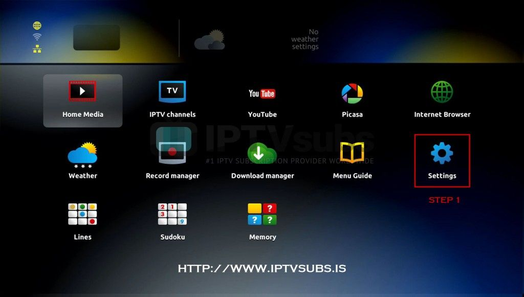 Infomir MAG250/254 set up tutorial | IPTV | Desktop screenshot