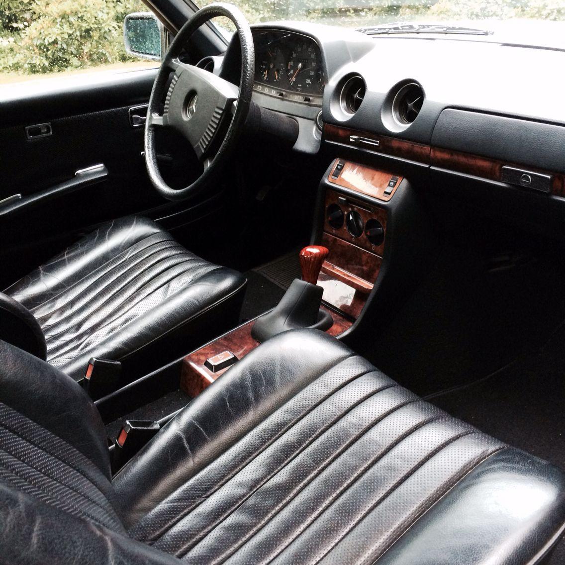 Mercedes w123 280 ce interior | W123 | Pinterest