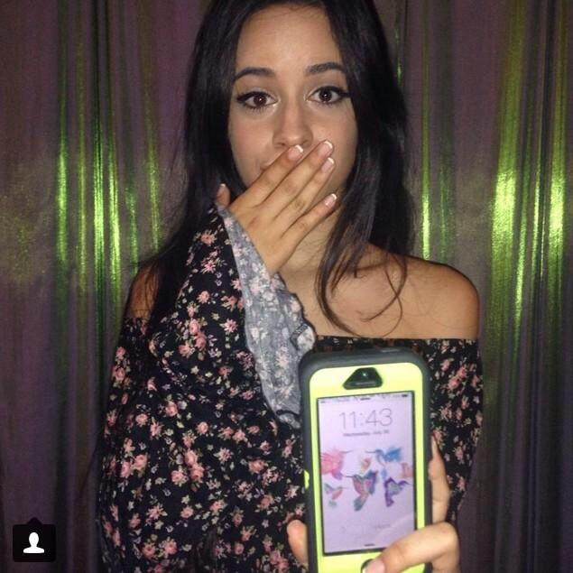 Camila's Lockscreen