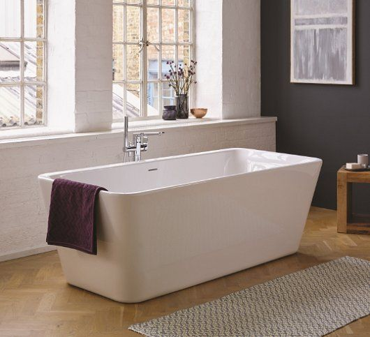 Ideal Standard Tonic II Dshape DoubleEnded Bath  Bathroom Review  In and out  Bathroom Double ended bath Bath