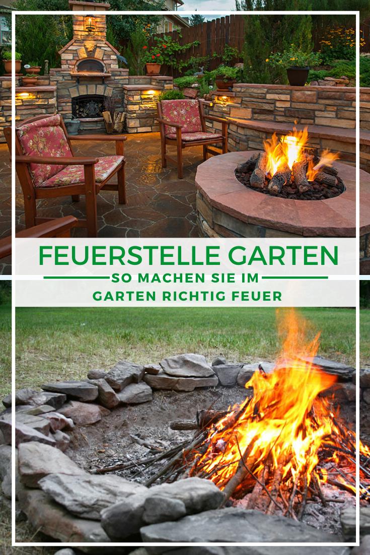 Feuerstelle Im Garten So Machen Sie Im Garten Feuer Feuerstelle Garten Feuerstelle Garten
