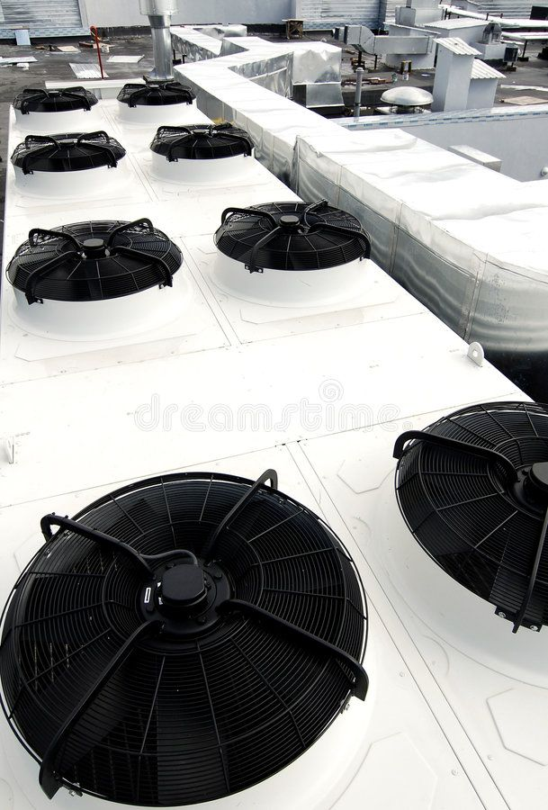 Air Conditioning Unit On Roof This Photograph Represents An Industrial Air Cond Spon R Air Conditioning Unit Industrial Air Conditioning Air Conditioning
