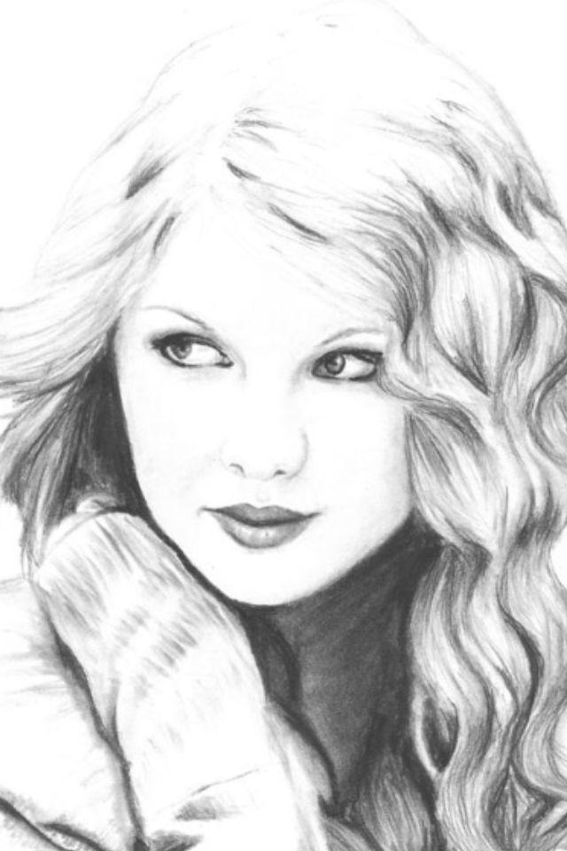 Taylor swift drawing!!!!❤it\'s amazing!!!!   mixed media art   Pinterest