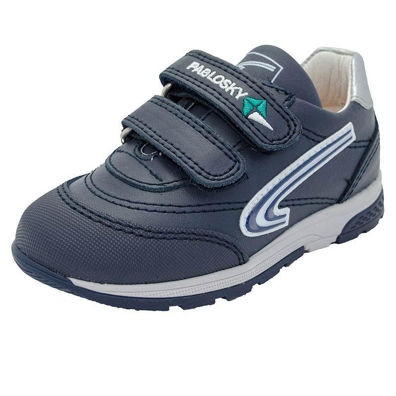 Zapatos azul marino con velcro Pablosky infantiles 7DN0d