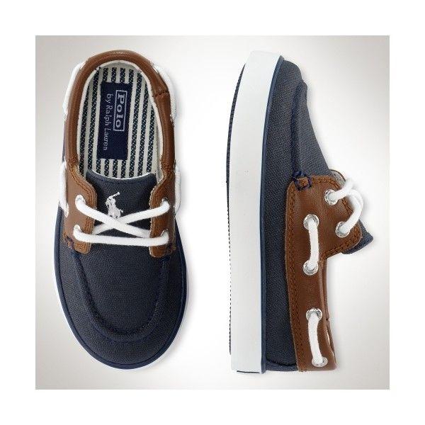 Polo Ralph Lauren Little//Big Boy/'s Sander Loafers Boat Shoes