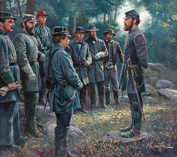 Stonewall Jackson Quotes: Civil War 1861-1865