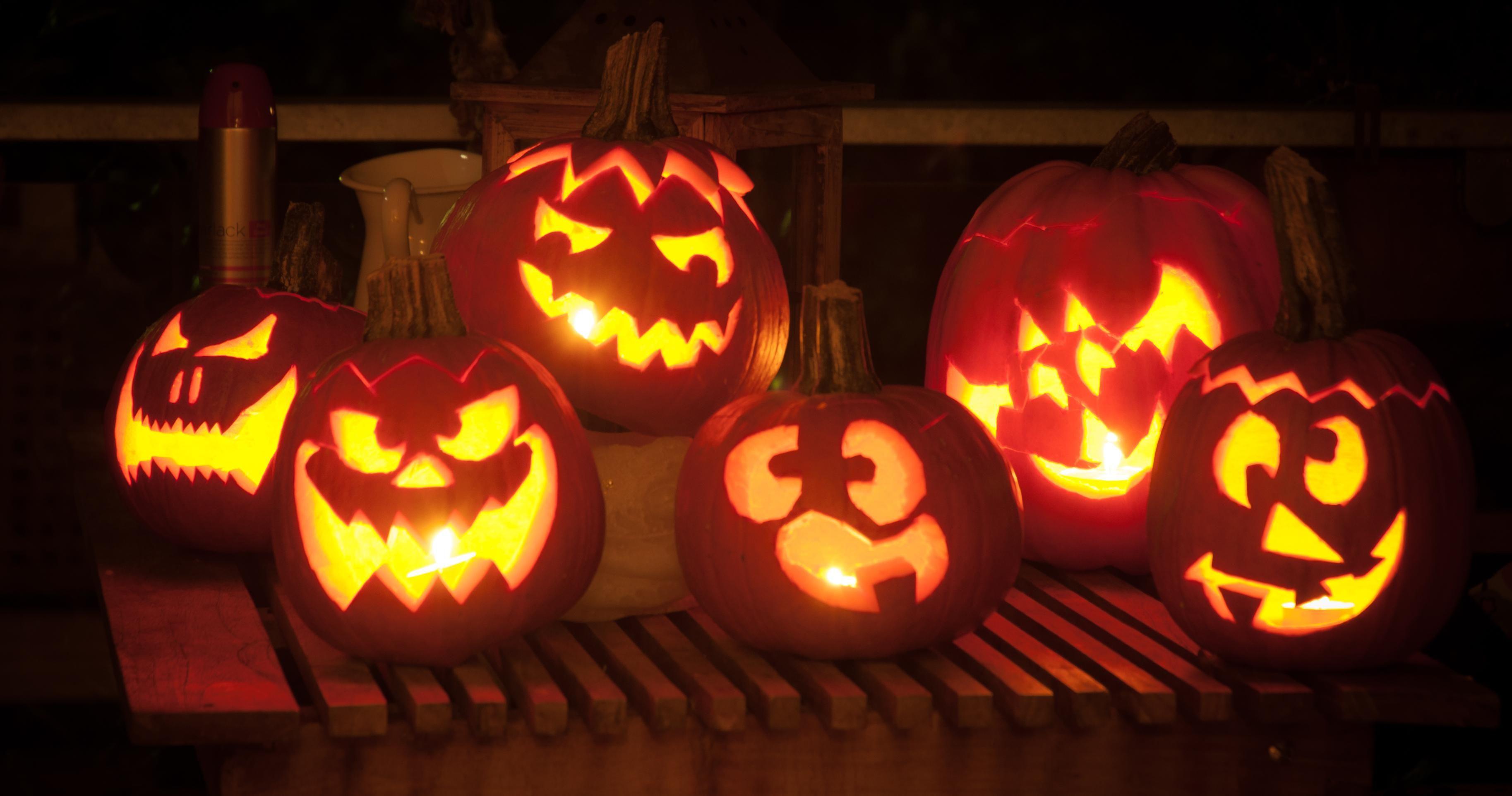 Kürbis schnitzen: die coolsten Halloween-Fratzen Beim ...