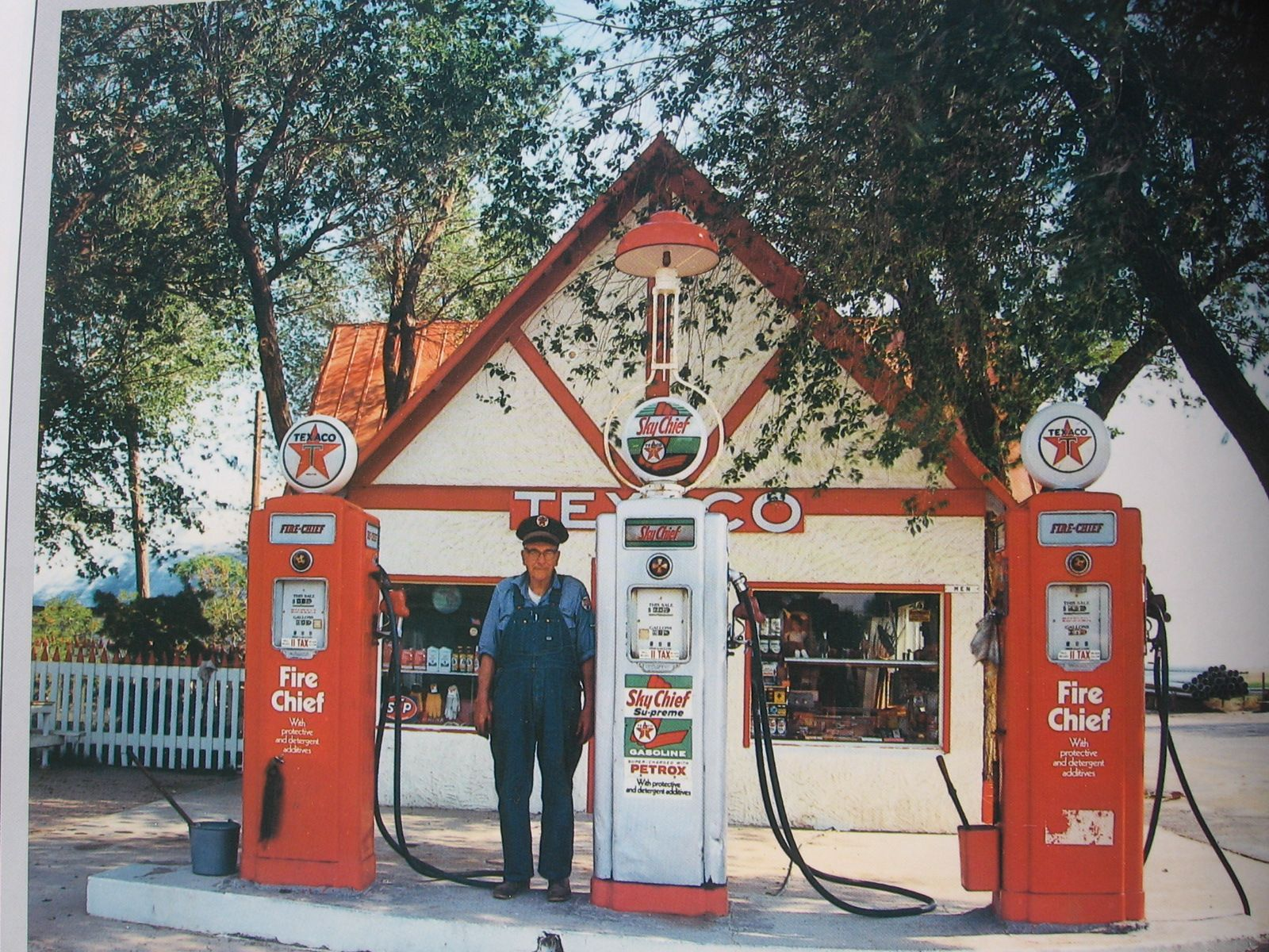 Old Texaco Gas station....Full Service ) You can always