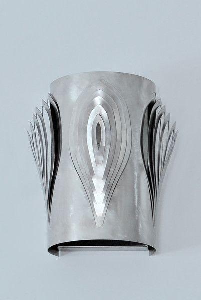Archerlamps Steel Petals Wall Lamp