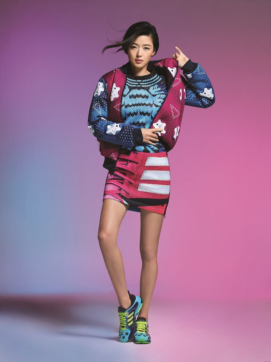 Jun Ji Hyun for Adidas Originals X Mary Katrantzou