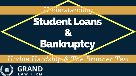 Student Loans and Bankruptcy - Understanding the Brunner Test