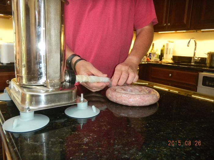 High-quality Kitchener sausage stuffer provides years of ...