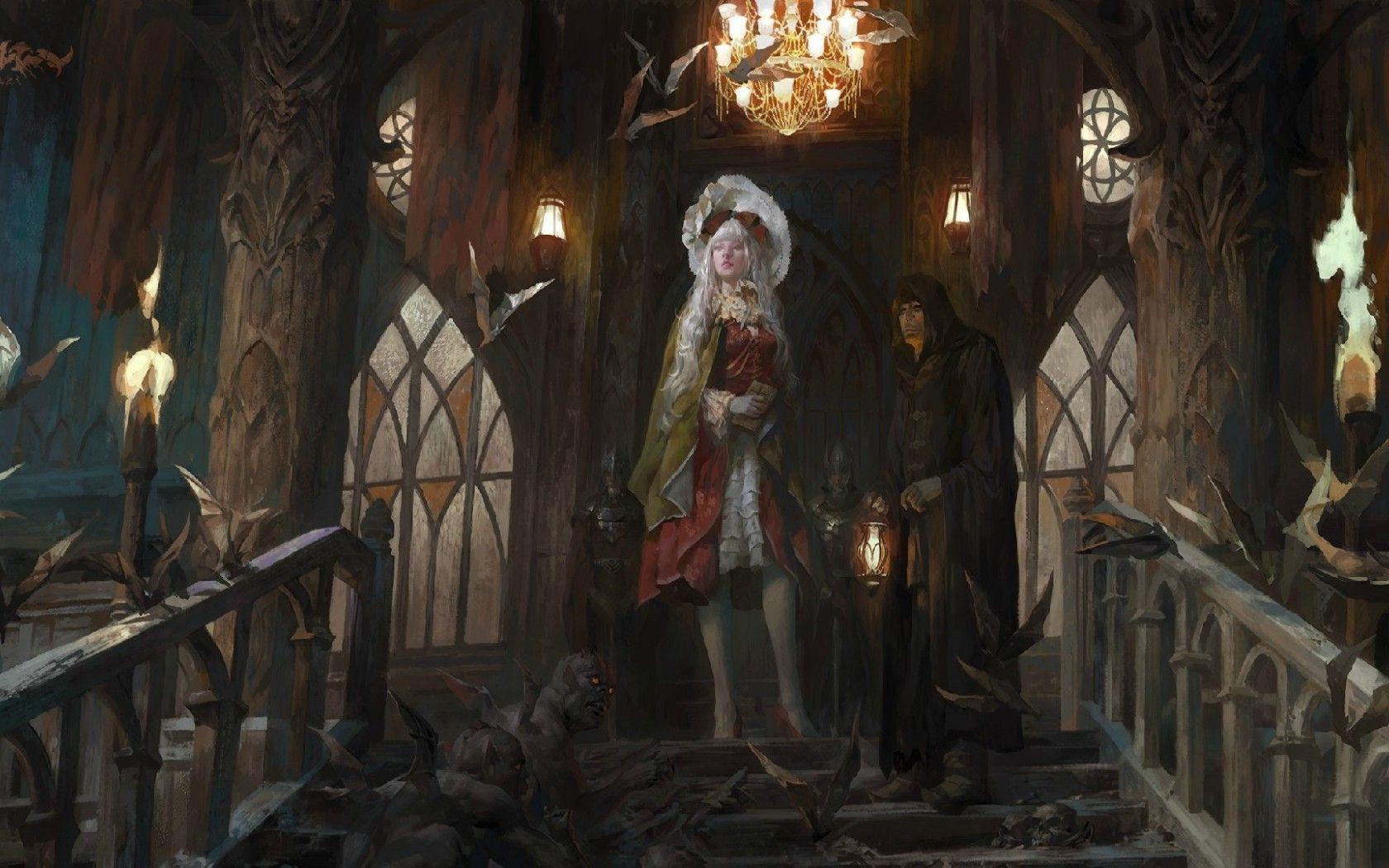 которые замок и ведьма картинки арт это конце концов