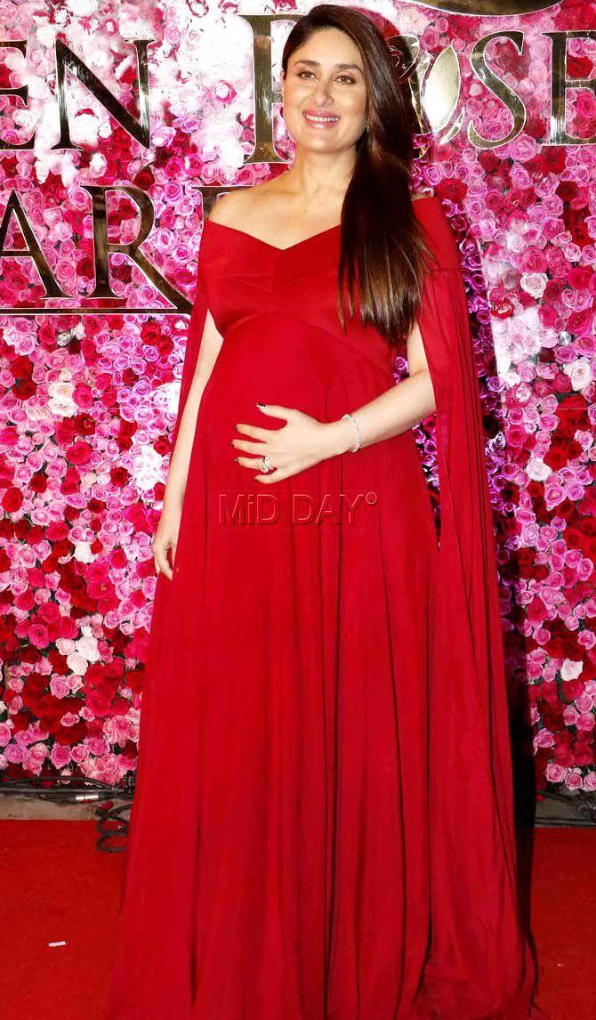 74a6dd5ab12 Kareena Kapoor Khan flaunts baby bump in this stunning photo shoot ...