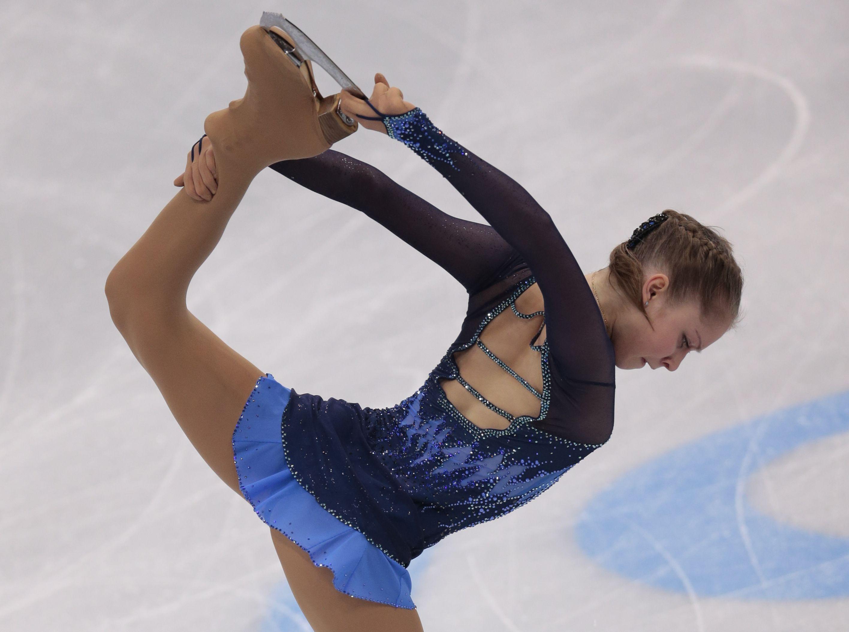 Yulia Lipnitskaya in 5th Place After Womens Figure