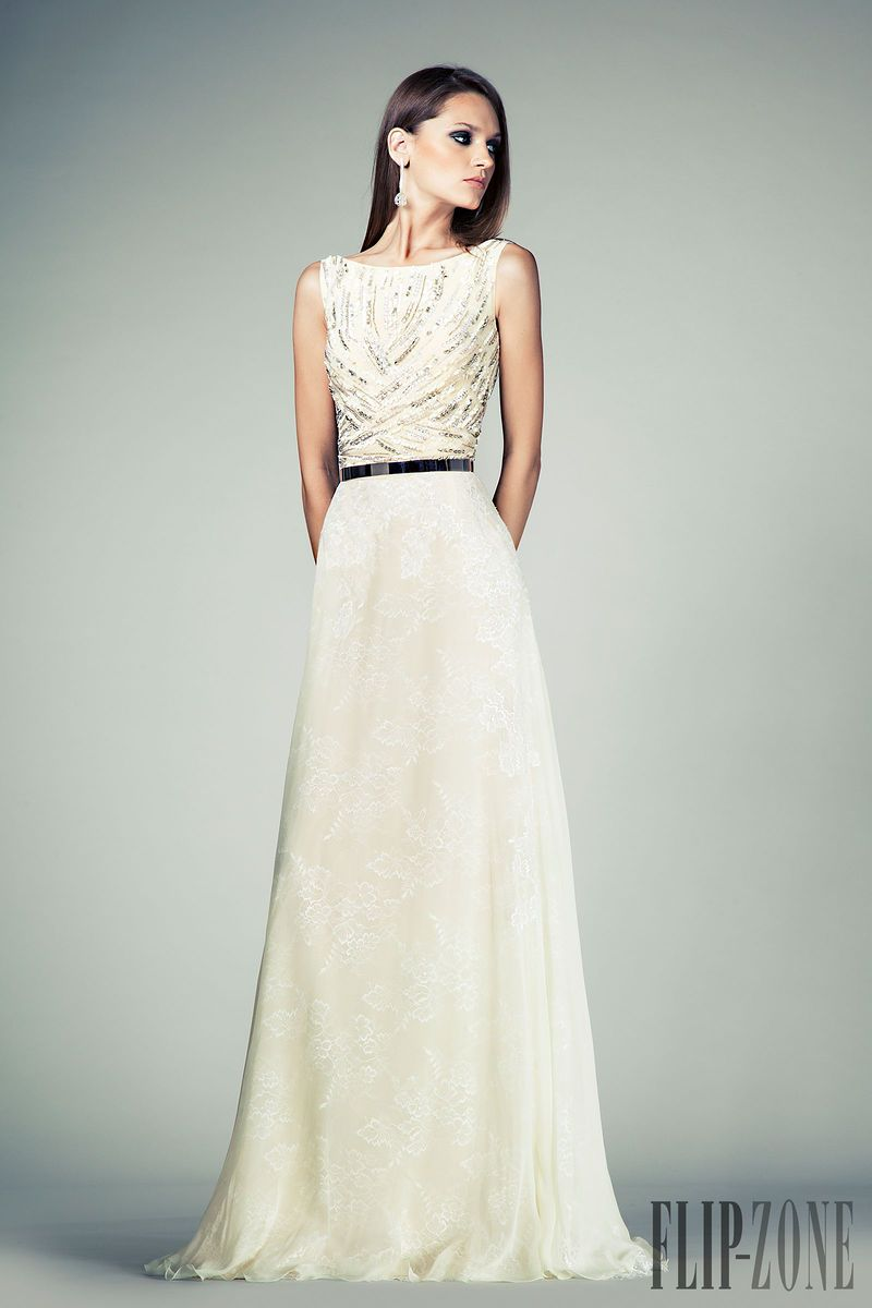 Long dresses for summer wedding  Tony Ward Springsummer   ReadytoWear  flipzone