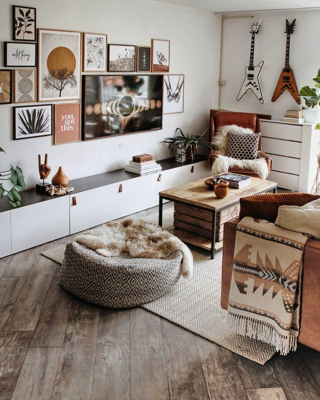 2 070 Curtidas 46 Comentários Tatjana Interior Lifestyle Tatjanas World No Instagram Goodmo Cozy Living Room Design Apartment Decor Boho Living Room
