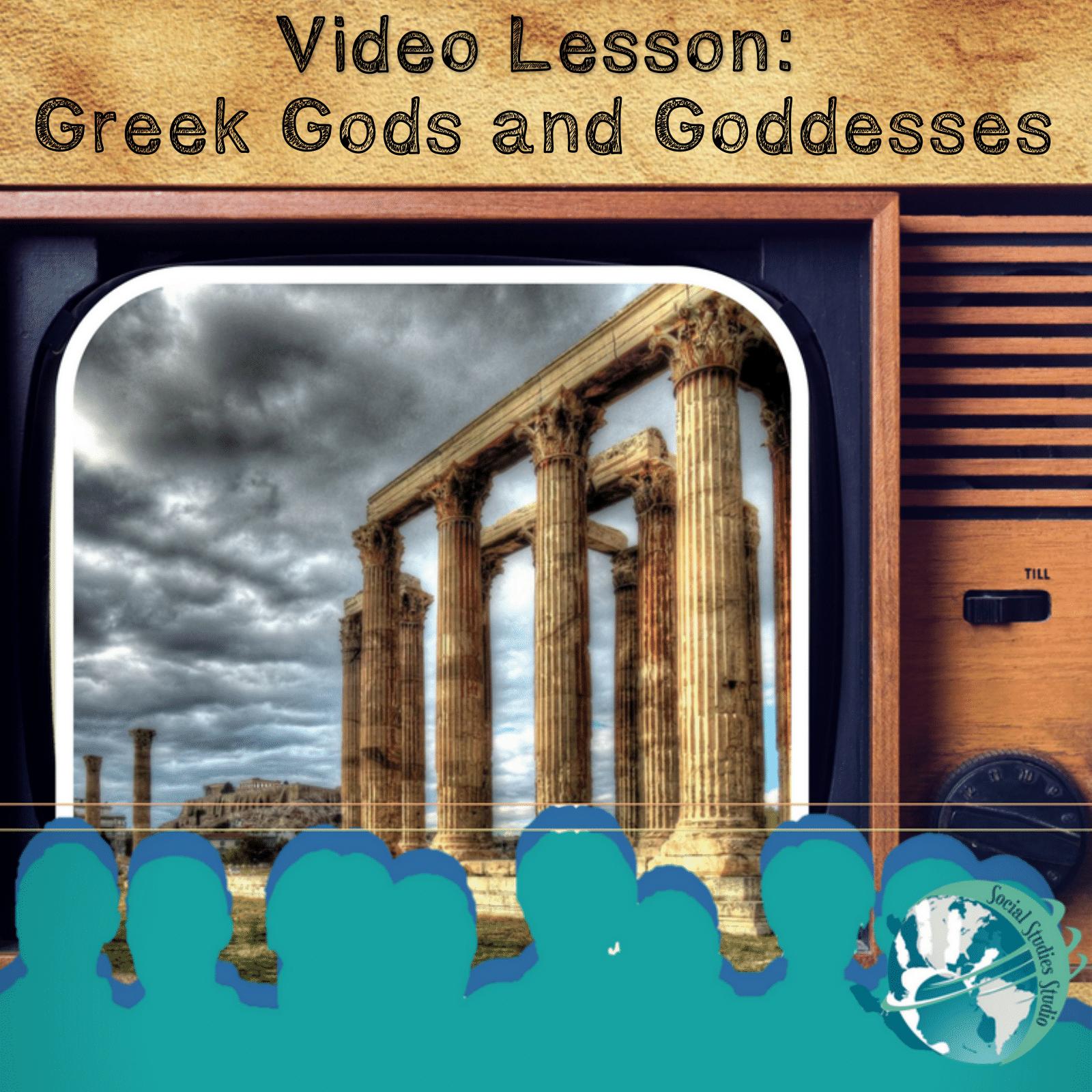 Video Lesson Greek Gods And Goddesses