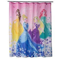 Jumping Beans Disney Princess 70 Inch X 72 Inch Shower Curtain