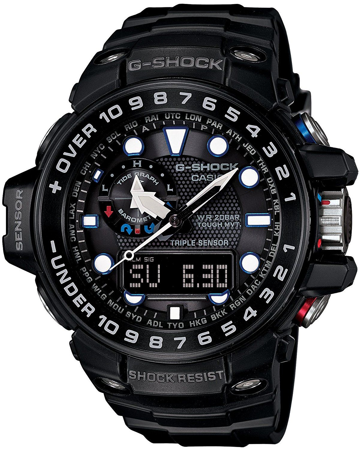 76c5b26afde4 Casio G-shock Gulfmaster Analogue-digital Gwn-1000b-1ajf Men s Watch    Be  sure to check out this awesome product. (This is an Amazon Affiliate link)