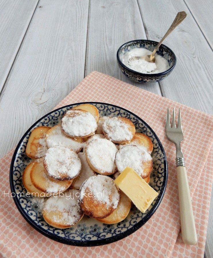 Mini pancakes / Dutch mini pancakes / Poffertjes
