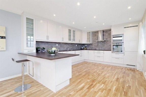 Kjøkken med åpen ventilator Kjøkken Pinterest Kitchens - küche ohne griffe