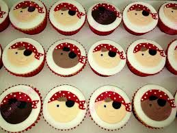 Wedding Pirate Cup Cakes
