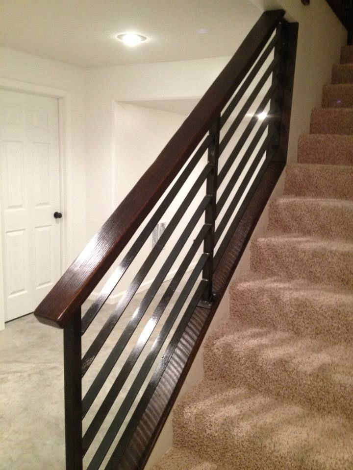 Best Custom Made Horizontal Slat Railing Diy Stair Railing 400 x 300