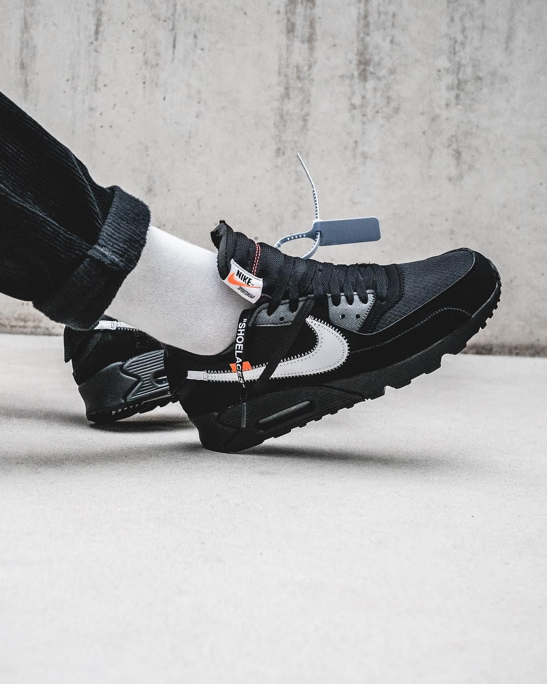 best website b7389 2b6e3 Nike x Off-White Air Max 90  Desert Ore  and  Black