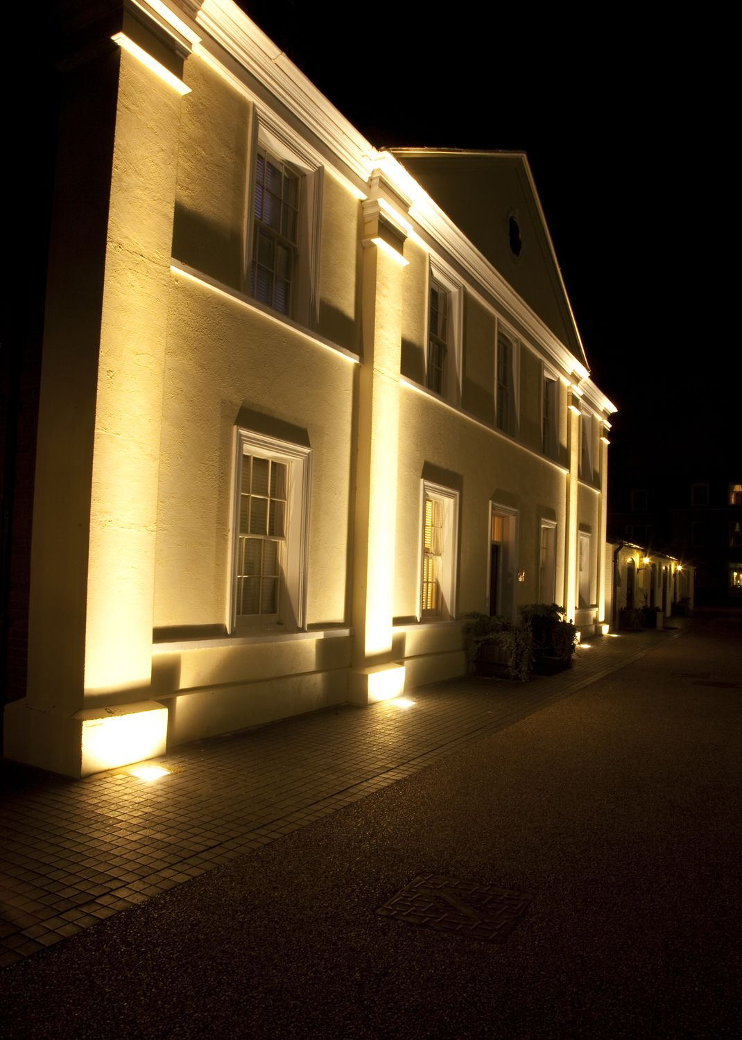 Luton Hoo Hotel Luton Featuring Luca Column Lights House Styles Mansions