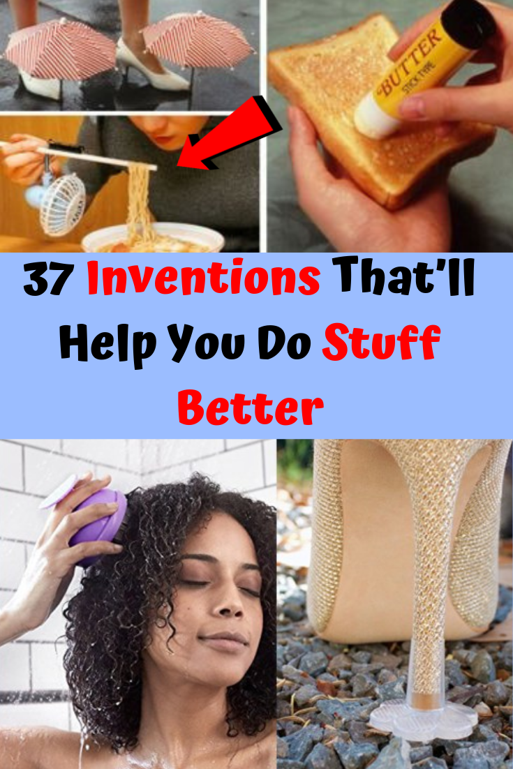 37 Inventions That'll Help You Do Stuff Better is part of Concept art characters - Visit this page for more!
