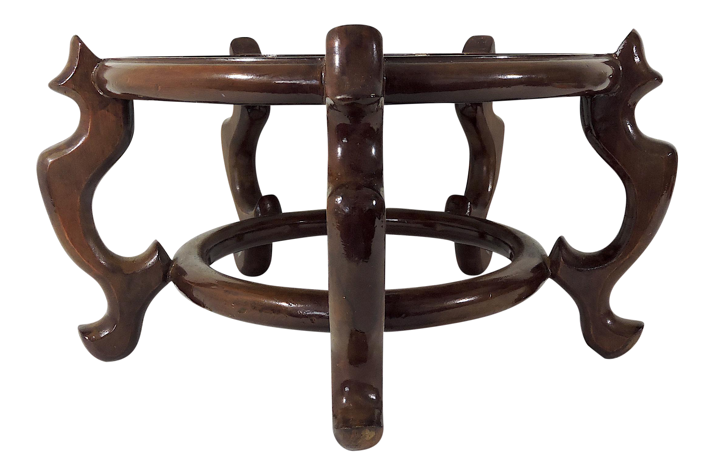 Vintage Solid Rosewood Chinese Planter Or Jardiniere Display Stand Or Pedestal 17 13 5 On Chairish Com Please Feel In 2020 Brown Interior Display Stand Plant Stand