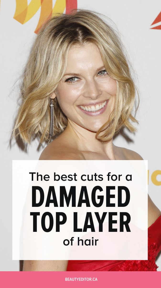 Ask a Hairstylist: How to Fix the Damaged Top Layer of Your Hair