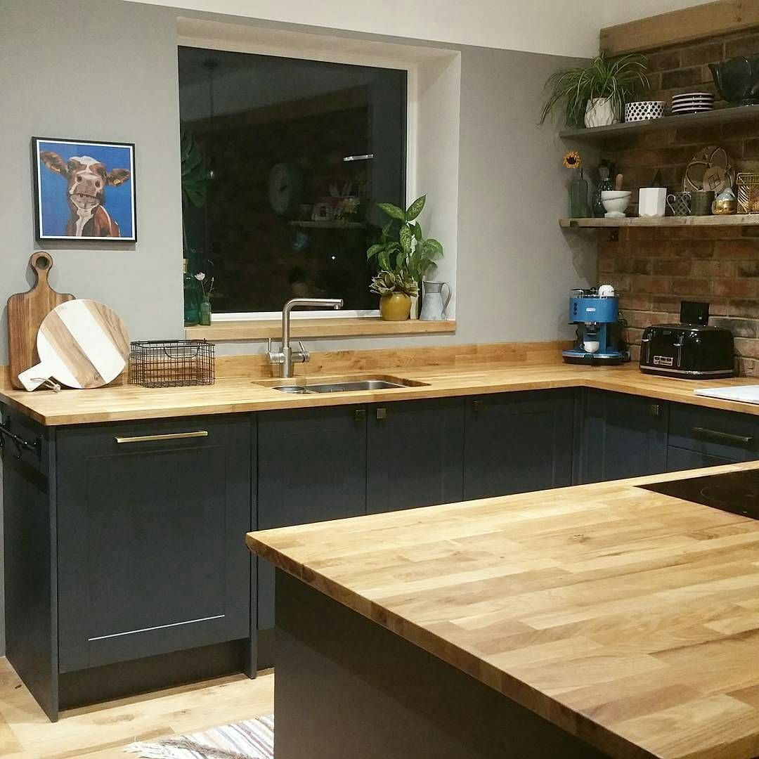 Great kitchen from janefitchinteriors featuring solid oak