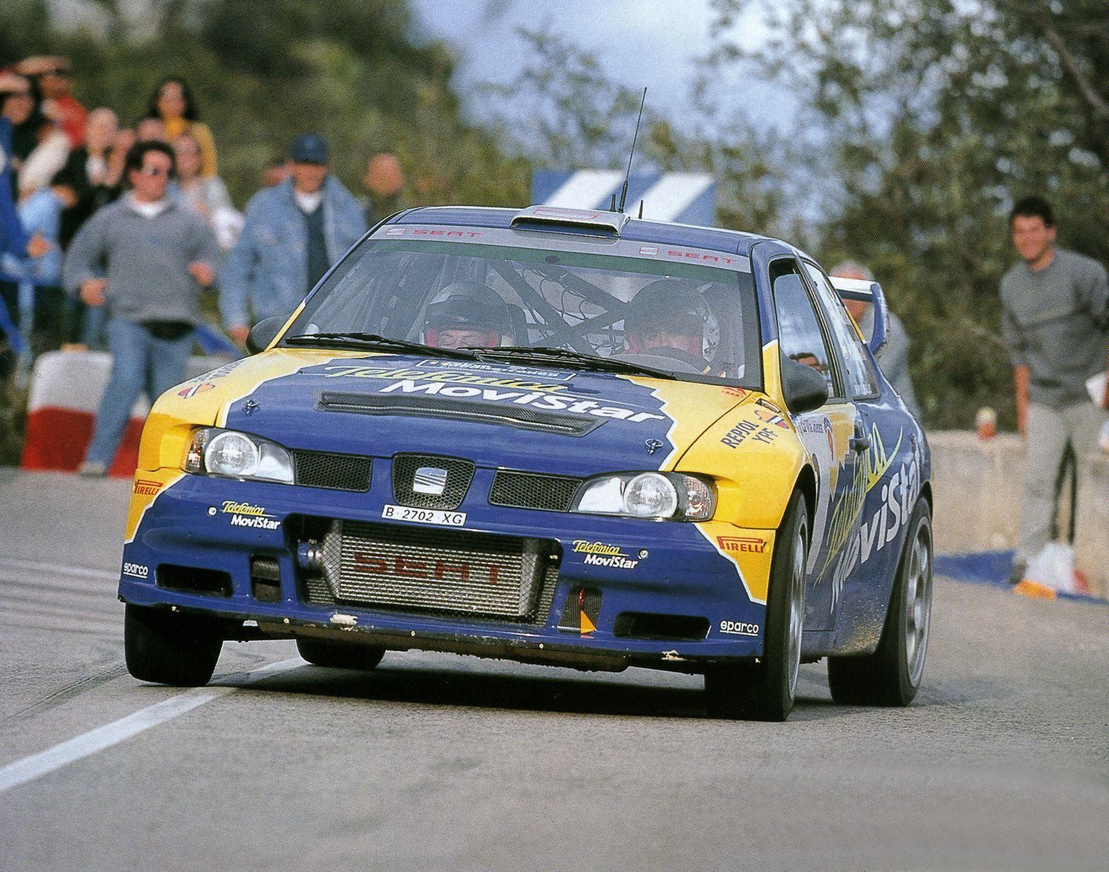 2001 s ca ellas seat c rdoba wrc evo 3 xi rallye mediterraneo