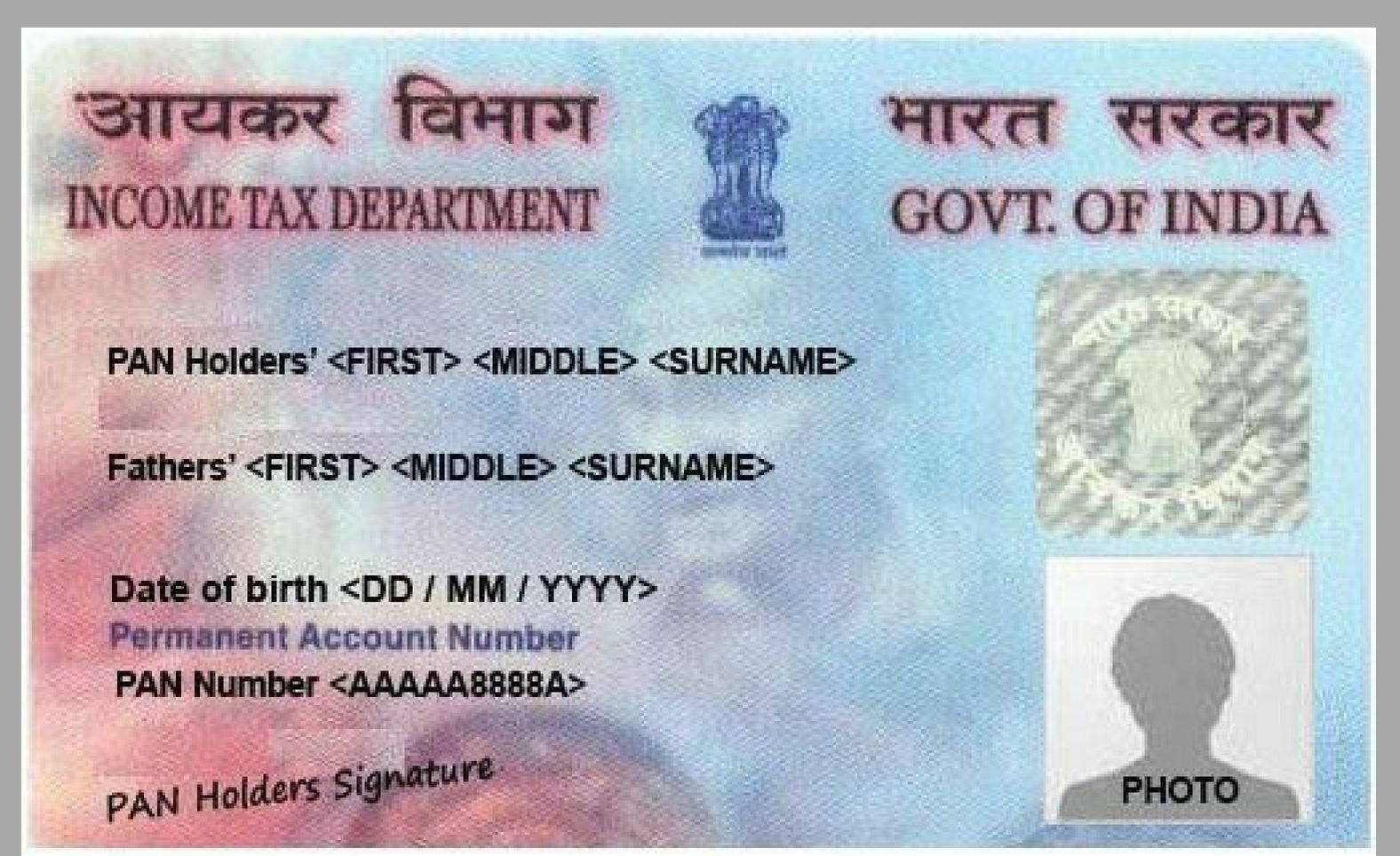 Do you want to apply for pan card it is issued by the