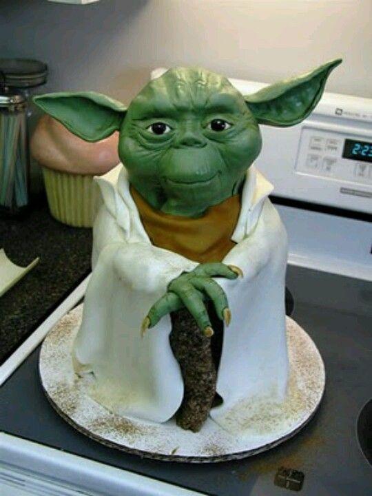 Yoda Cake Kids Baby Desserts Decorated Pinterest