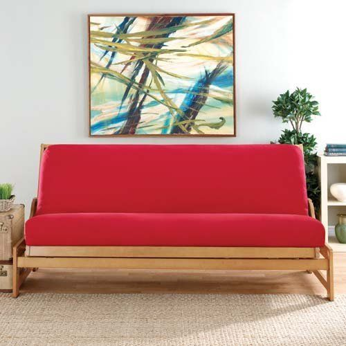 Sure Fit Poly Canvas Futon Cover By 49 98 Update Your Living E With A Bright Splash Of Color This Trendy Comes In Va