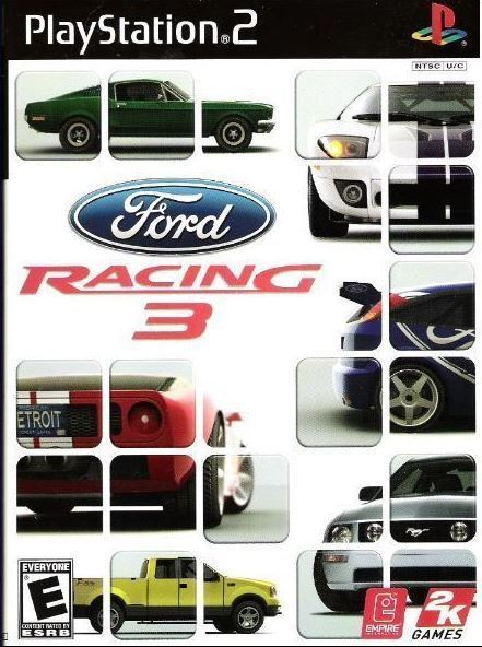 Playstation 2 Ford Racing 3 2005 Sony Slus 20976 Video Game