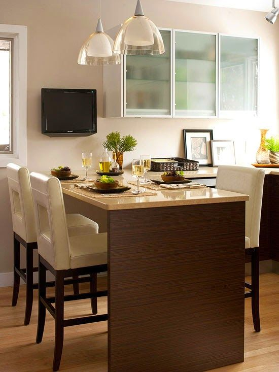 Image result for kitchen peninsula with seating on both ...