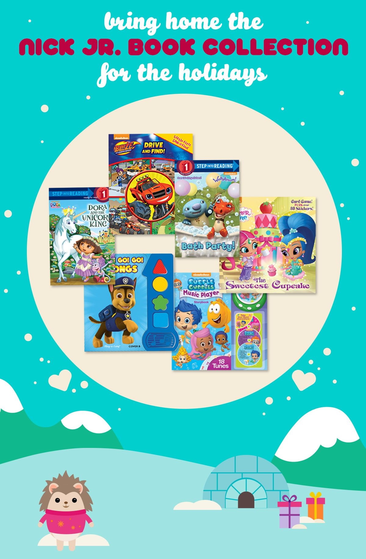 Nick jr 12 days of christmas giveaways 2018