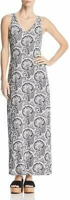 Robert Michaels Women's Dress White Black Medium M Maxi Paisley Print $98 #078 #fashion #clothing #shoes #accessories #women #womensclothing (ebay link)