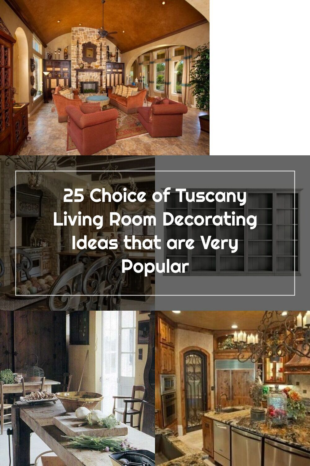 10+ Best Tuscan Living Room Decorating Ideas