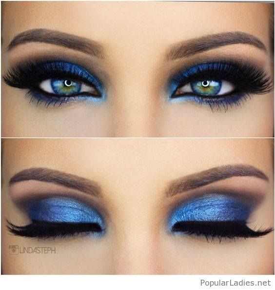 Sweet Blue Eye Makeup Style Beauty Pinterest Blue Eyes Makeup