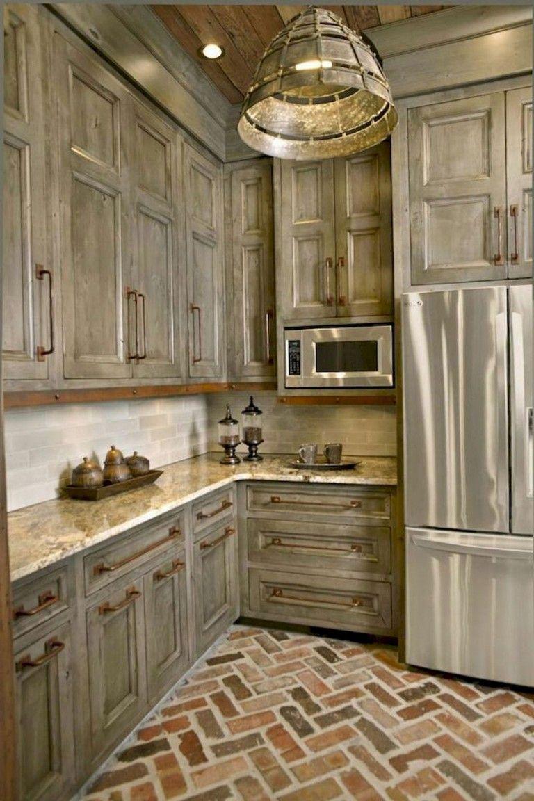 remarkable farmhouse kitchen decor | 94+ Remarkable Farmhouse Gray Kitchen Cabinet Design Ideas ...