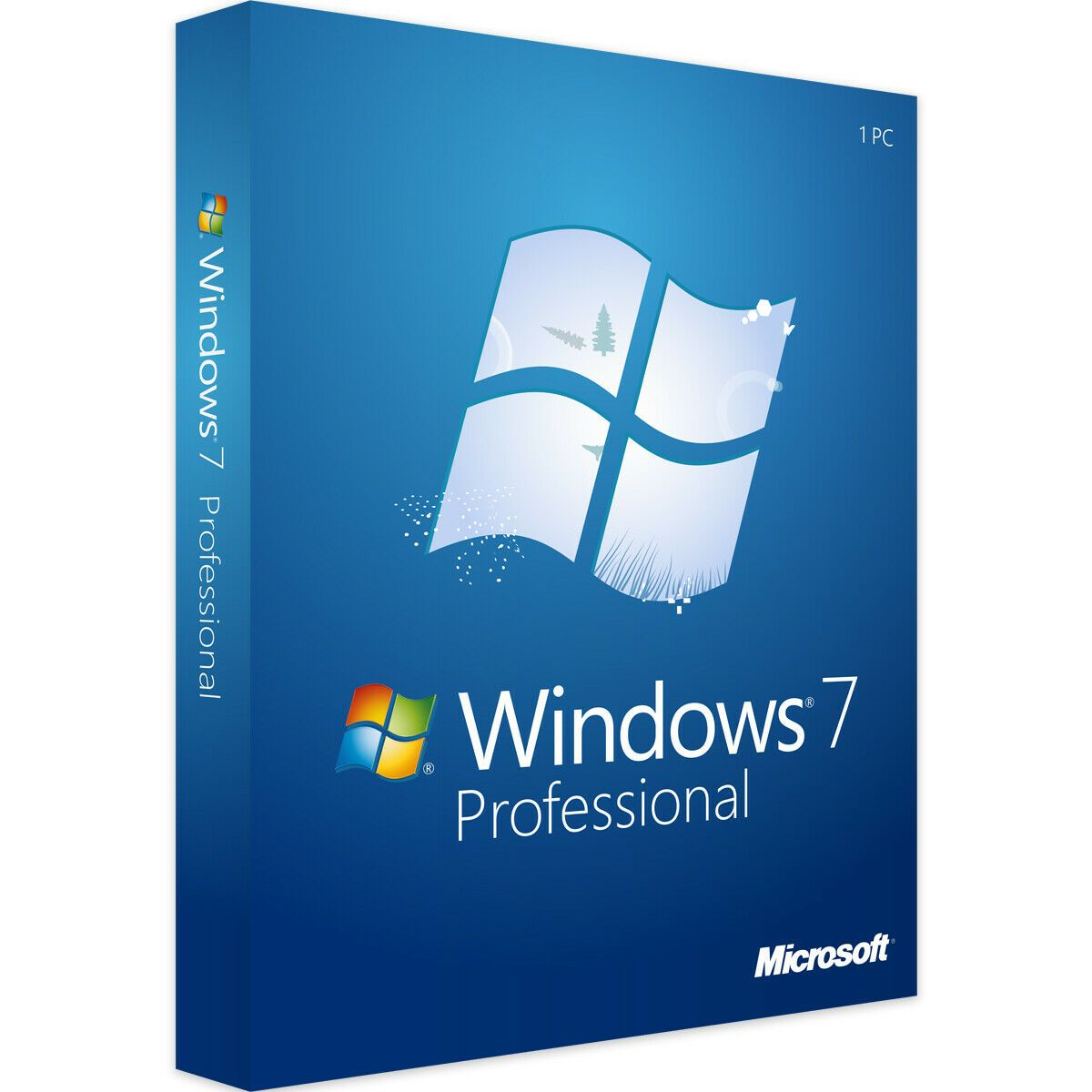 Microsoft Windows 7 Professional New Activation License Key Code For 1 Pc