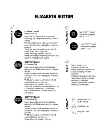 Creative Resume Template  Resume Randomness