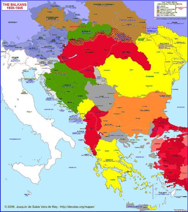 Balkan Peninsula Triangular Arm Of Land That Juts From